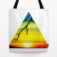 Sundown Spectrum Tote Bag by DuckyB (Brandi)