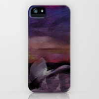 Whale Tale iPhone & iPod Case by Galen Valle