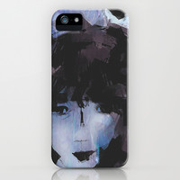 Abstract - Knowing Blue iPhone & iPod Case by Galen Valle
