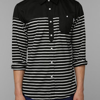 Publish Lonnox Stripe Button-Down Shirt - Urban Outfitters