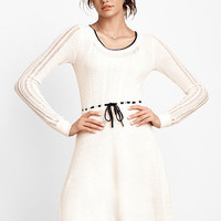 Mixed Knit Sweaterdress - Victoria's Secret