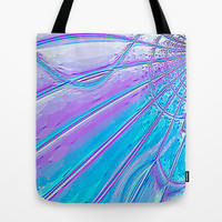 Re-Created Web of Lies1 Tote Bag by Robert S. Lee