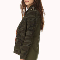 Glam Commander Utility Jacket