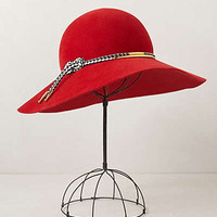Scarlet Floppy Hat
