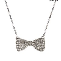 BOW SHORT-STRAND NECKLACE