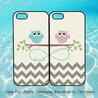 iphone 5 case,Best Friends,owls,iphone 5S case,iphone 5C case,iphone 4 case,iphone 4S case,ipod4 case,ipod 5 case,Blackberry Z10, Q10 case