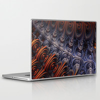 The Alien Ship Laptop & iPad Skin by Lyle Hatch