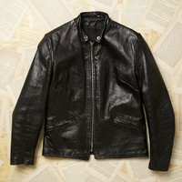 Vintage Cafe Style Motorcycle Jacket
