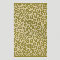 Sage Animal Print Indoor-Outdoor Rug