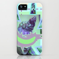 tropical banana iPhone & iPod Case by austeja saffron