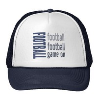 Zazzle Football Game On Hat