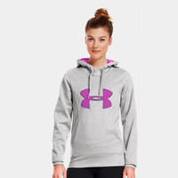 Women's Armour Fleece Storm Big Logo Hoodie