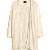 Chenille cardigan - from H&M