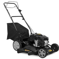 "STEELE PRODUCTS 23"" 173CC Rear Drive Self-Propelled High Wheel Rear Bag Push Mower"