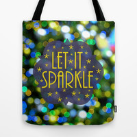 Let Its Sparkle Tote Bag by RichCaspian