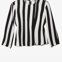 A.L.C. Striped Pullover Blouse-Just In-Clothing-Categories- IntermixOnline.com