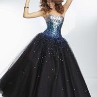 Paparazzi by Mori Lee 95128 Stunning Ball Gown