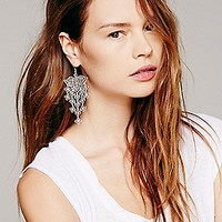 Daisy Mesh Statement Earring