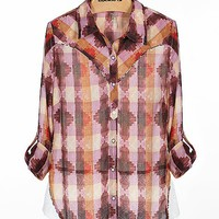 Gimmicks by BKE Chiffon Shirt