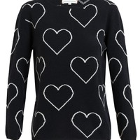 CHINTI AND PARKER | Heart Patterned Cashmere Jumper | Browns fashion & designer clothes & clothing