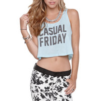 Riot Society Casual Friday Cropped Tank at PacSun.com