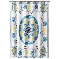 Boho Boutique™ Nikko Engineered Shower Curtain