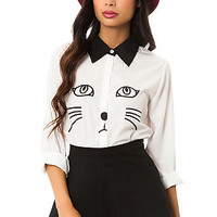 The Cat Blouse