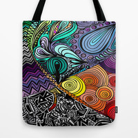 Extrovert Tote Bag by DuckyB (Brandi)
