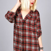 Plaid Daze Blouse