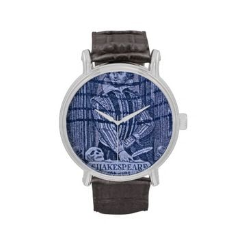 Shakespeare Stamp Watch