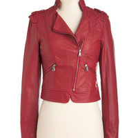 Fire Brick and Motor Jacket | Mod Retro Vintage Jackets | ModCloth.com