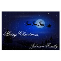 Outdoor Christmas Signs With Santa And Reindeer