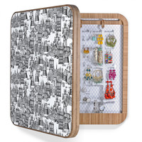 Sharon Turner Walking Doodle Toile De Jouy BlingBox