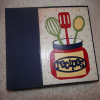 6x6 Recipe Scrapbook Album
