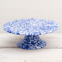 Crow Canyon: Cake Stand Blue, at 9% off!