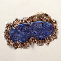 Bronzed Azure Sleep Mask