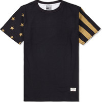 Black/Gold Mr.Metallic USA T-Shirt