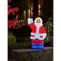 Outdoor Santa Light | LED Santa Claus Lights| Konstsmide Outdoor Christmas Lighting