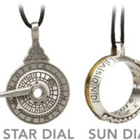 Sundial and Stardial Pendants