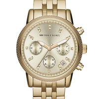 Michael Kors 'The Ritz' Chronograph Bracelet Watch, 36mm (Save Now through 12/9) | Nordstrom