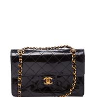 Chanel Black Patent 2.55 Bag by Vintage Chanel for Preorder on Moda Operandi