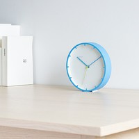 Tick Wall Clock - Blue -9%