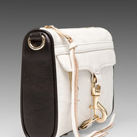 Rebecca Minkoff Mini Mac in Black & White