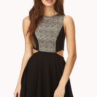 Touch of Glam Skater Dress