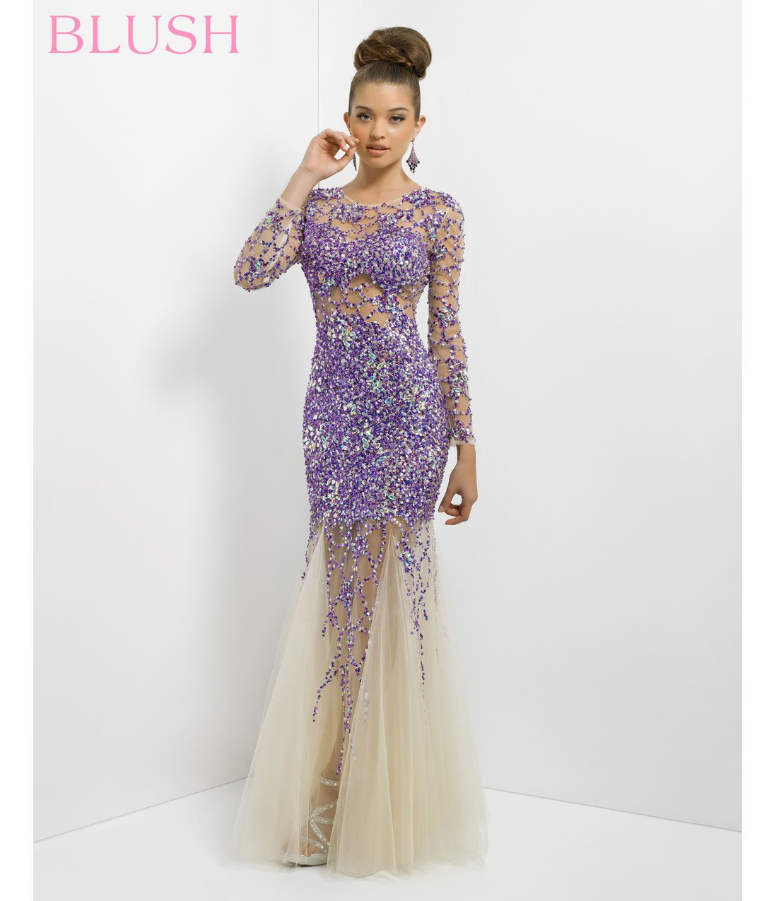 preorder blush 2014 prom dresses from unique vintage