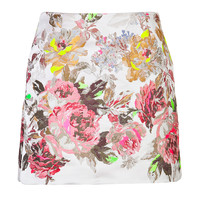 Valentino - Jacquard Mini-Skirt