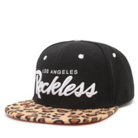Young and Reckless OG Reckless Cheetah Script Snapback Hat at PacSun.com