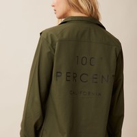 100% CALIFORNIA MILITARY JACKET