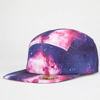 Cosmic Glow In The Dark Mens 5 Panel Hat