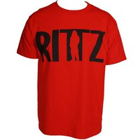 Rittz - Red Logo T-Shirt Strange Music, Inc Store